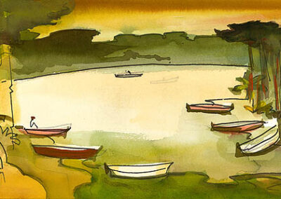 Milford Zornes-Untitled, 2001
