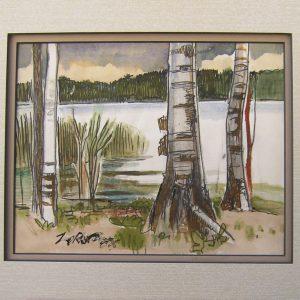 Sand Lake - Milford Zornes